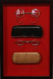 occhiali di scena per Tosca e La Bohème